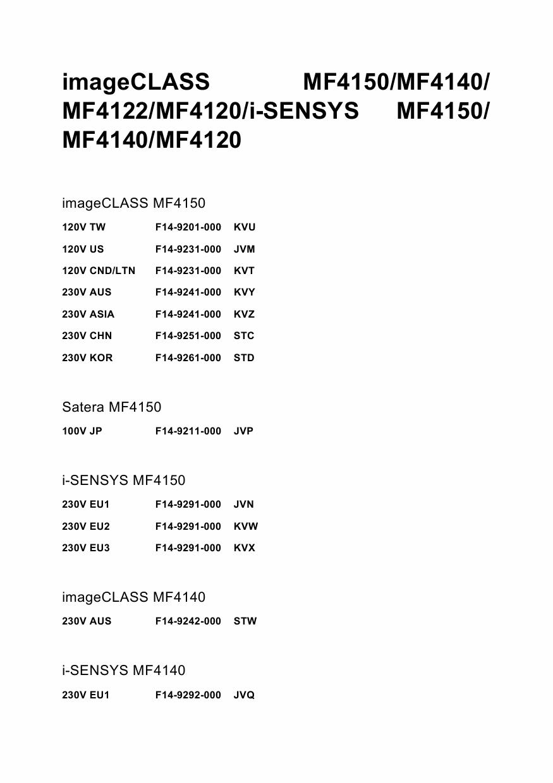 Драйвер Canon Mf 4120